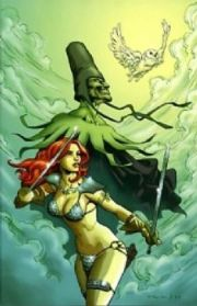 Red Sonja #28 Homs Virgin Retail Incentive Variant